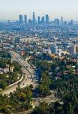 Grattacieli di Los Angeles Immagini Stock Libere da Diritti