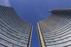 Grattacieli di Milano Fotografia Stock
