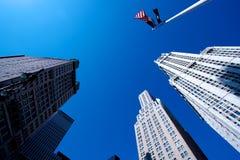 Grattacieli di New York Immagini Stock Libere da Diritti