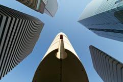Grattacieli di Osaka Immagini Stock Libere da Diritti
