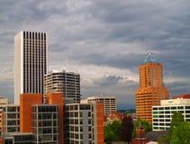 Grattacieli di Portland Immagine Stock