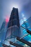 Grattacieli di Pudong, Shanghai, Cina Fotografia Stock