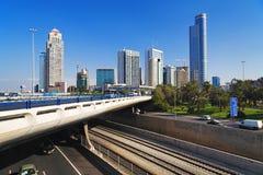 Grattacieli di Ramat Gan, Israele Fotografia Stock