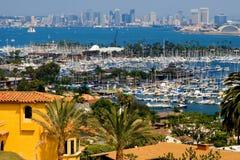 Grattacieli di San Diego Fotografia Stock Libera da Diritti
