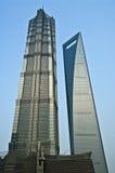 Grattacieli di Schang-Hai Fotografie Stock Libere da Diritti