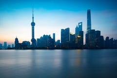 Grattacieli di Schang-Hai Lujiazui CBD immagini stock