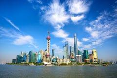 Grattacieli di Schang-Hai Lujiazui CBD Fotografia Stock Libera da Diritti