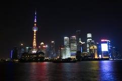 Grattacieli di Schang-Hai Lujiazui CBD Immagini Stock Libere da Diritti