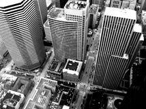 Grattacieli di Seattle del centro Fotografie Stock Libere da Diritti