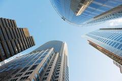 Grattacieli di Sydney immagine stock