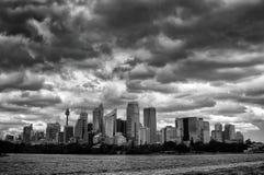Grattacieli di Sydney CBD Immagine Stock