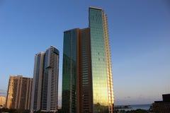 Grattacieli di vetro Fotografia Stock Libera da Diritti