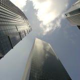 Grattacieli di vetro Immagine Stock Libera da Diritti