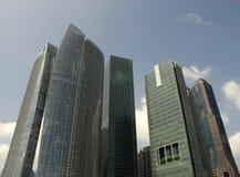 Grattacieli di vetro Fotografia Stock