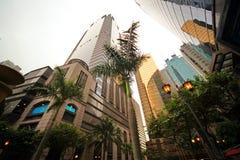 Grattacieli di vetro in Cina Fotografia Stock