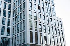 Grattacieli di vetro moderni della costruzione del centro di affari Immagine Stock