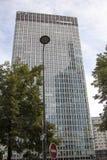 Grattacieli finanziari Parigi Francia di Défense della La degli uffici di distretto Fotografia Stock