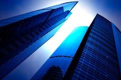 Grattacieli futuristici Immagini Stock