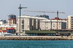Grattacieli in Gibilterra Fotografia Stock Libera da Diritti
