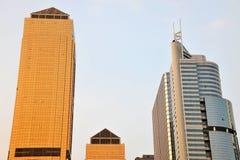 Grattacieli a guangzhou fotografie stock libere da diritti