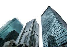Grattacieli isolati della città Fotografie Stock
