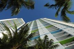 Grattacieli Miami del centro immagine stock