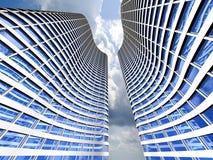 Grattacieli moderni Fotografia Stock Libera da Diritti