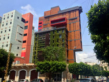 Grattacieli moderni a Beirut, Libano Fotografia Stock Libera da Diritti
