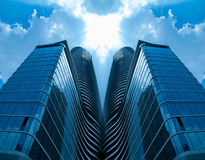Grattacieli moderni comuni Fotografia Stock