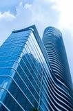 Grattacieli moderni comuni Fotografia Stock Libera da Diritti
