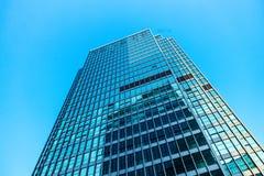 Grattacieli moderni comuni di affari, grattacieli, architettura che si alza al cielo immagine stock