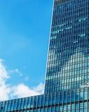 Grattacieli moderni di affari, alte costruzioni di vetro, archit moderno Immagine Stock Libera da Diritti
