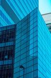 Grattacieli moderni di affari, alte costruzioni di vetro, archit moderno Fotografie Stock