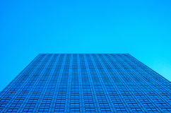 Grattacieli moderni di affari, alte costruzioni di vetro, archit moderno Fotografie Stock Libere da Diritti
