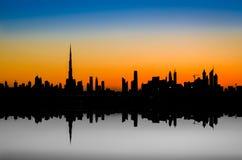 Grattacieli nel Dubai, la costruzione più alta nel mondo Immagine Stock Libera da Diritti