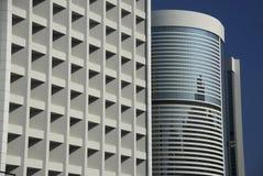 Grattacieli nell'isola di Hong Kong Immagine Stock