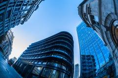 Grattacieli nella città di Londra Immagini Stock