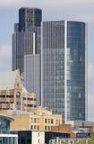 Grattacieli nella città di Londra Immagine Stock