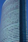 Grattacieli nella città di Mosca contro il cielo blu Fotografia Stock