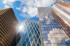 Grattacieli nella difesa della La, Parigi, Francia Immagine Stock