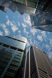 Grattacieli, paesaggio urbano urbano tipico Immagini Stock