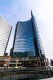 Grattacieli in piazza Gael Aulenti Immagine Stock