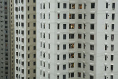 Grattacieli residenziali di Hong Kong Island Fotografia Stock