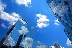 Grattacieli a Rotterdam, Olanda Immagini Stock
