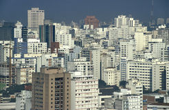 Grattacieli in São del centro Paulo, Brasile Immagini Stock
