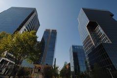 Grattacieli a Santiago, Cile Immagine Stock Libera da Diritti