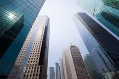 Grattacieli a Shanghai fotografia stock libera da diritti