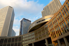 Grattacieli. Tokyo Fotografia Stock Libera da Diritti