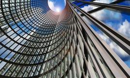 Grattacielo astratto Fotografia Stock Libera da Diritti