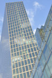 Grattacielo astratto di architettura Immagine Stock